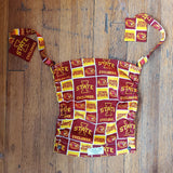 Iowa State University Flat Tula Hood with matching Reach Straps
