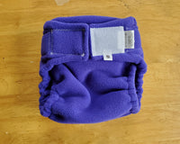 Deep Purple Fleecy Diaper Cover