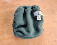 Army Green Fleecy Diaper Cover