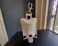 Awareness Ribbon Keychain Hand Sanitizer Holder - Any color
