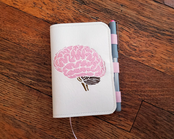 Brain Mini Notebook Cover