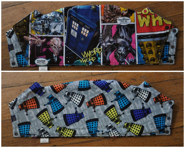 Doctor Space and Time Tula Topper. Ready to Ship.