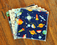 Cloth Wipes Set of Six - Boys