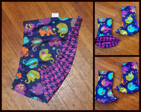 Elephant Flat Tula Hood with matching Suck Pads