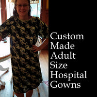 Adult Hospital Gown, Custom-Made