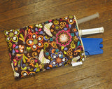 Custom Made Syringe Tote lets you carry 5 prefilled 60 mL syringes with ice pack, in a compact folio.