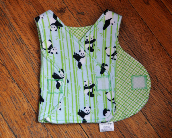 Adorable Pandas NICU smock. Made to Order.