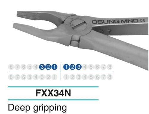 Adult Extraction Forcep, Lower 321-123 - DentalSupplyHouston.com
