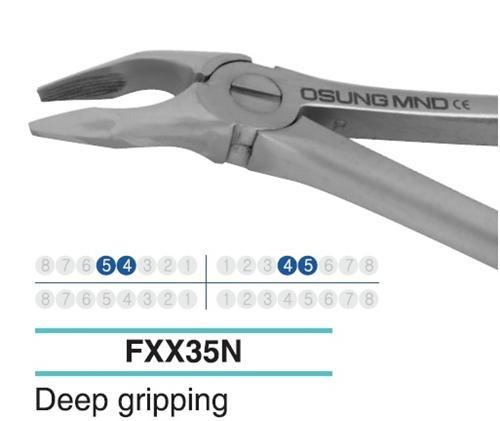 Adult Extraction Forcep, Lower 54-45 - DentalSupplyHouston.com
