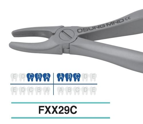 Extraction Forcep, Child/Pedo, FXX29C - DentalSupplyHouston.com