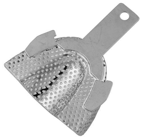 Impression Tray with Wing (Nickel Plated) L-U - BriteSources