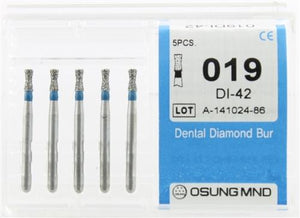 Diamond Burs, Double Inverted Cone Shape, Std Grit Multi-Use 019Di-42 - BriteSources