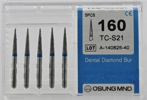 Diamond Burs, Taper Flat Shape, Standard Grit Multi-Use 169Tf-41 - BriteSources