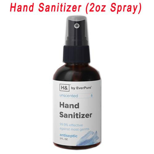 Hand Sanitizer Disinfectant Spray 2oz Bottles - 99.9% effective against most germs [USA Made] - BriteSources