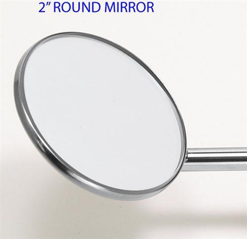 Dental Oral Photo Mirror, Round 2 inches Dia. - DentalSupplyHouston.com