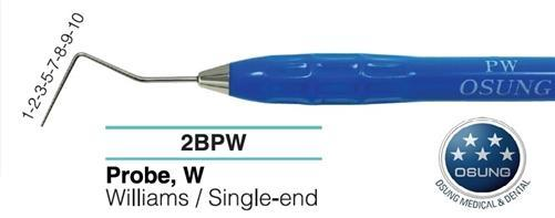 Dental Probe, Autoclavable Silicone Handle, PW - BriteSources