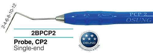Dental Probe, Autoclavable Silicone Handle, PCP2 - BriteSources