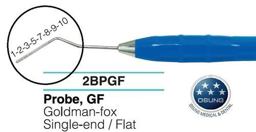 Dental Probe, Autoclavable Silicone Handle, PGF - BriteSources