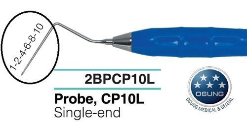 Dental Probe, Autoclavable Silicone Handle, PCP10L - BriteSources