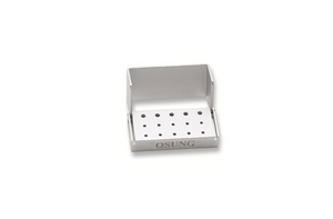 Dental Bur Holder Block, Silver, EBB1 - BriteSources