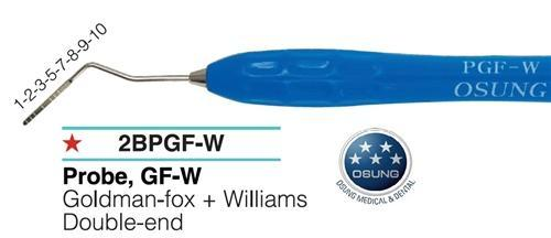 Dental Probe, Autoclavable Silicone Handle, PGF-W - BriteSources