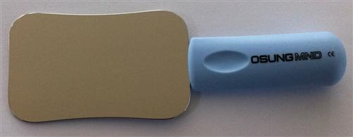 Intra Oral Mirror with Handle, Small  63 x 100 mm, DMHS - DentalSupplyHouston.com