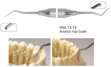 Dental Anterior Hoe Scaler, HSA12-13 - BriteSources