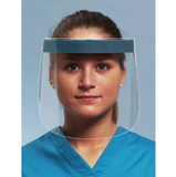 Full Length - Clear Protective - Face Mask Shield - DentalSupplyHouston.com