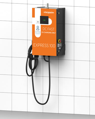 ChargePoint Express 100 DC Wall Mount - SAE CCS Combo Single Charger