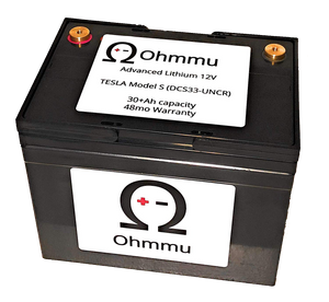 Ohmmu 12V Lithium Battery for TESLA Model S