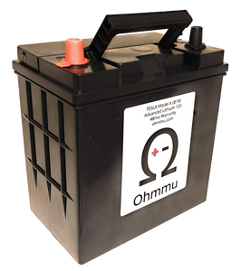 Ohmmu 12V Lithium Battery for TESLA Model X