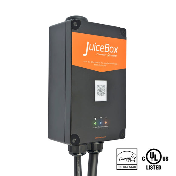 JuiceBox Pro 40C WiFi-Enabled Electric Vehicle (EV) Charging Station (Ethernet Optional)