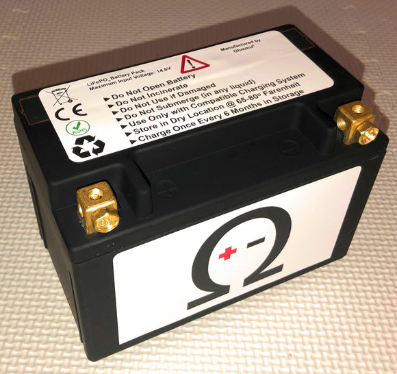 Ohmmu 12V Lithium Battery for TESLA Roadster