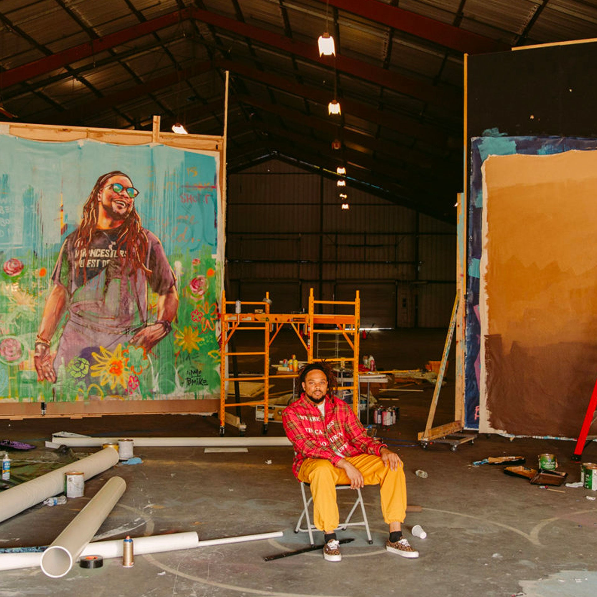 MEET THE NEW ORLEANS ARTISTS LIFTING COMMUNITY SPIRITS