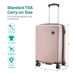 Solaris Pink Matte Carry-on