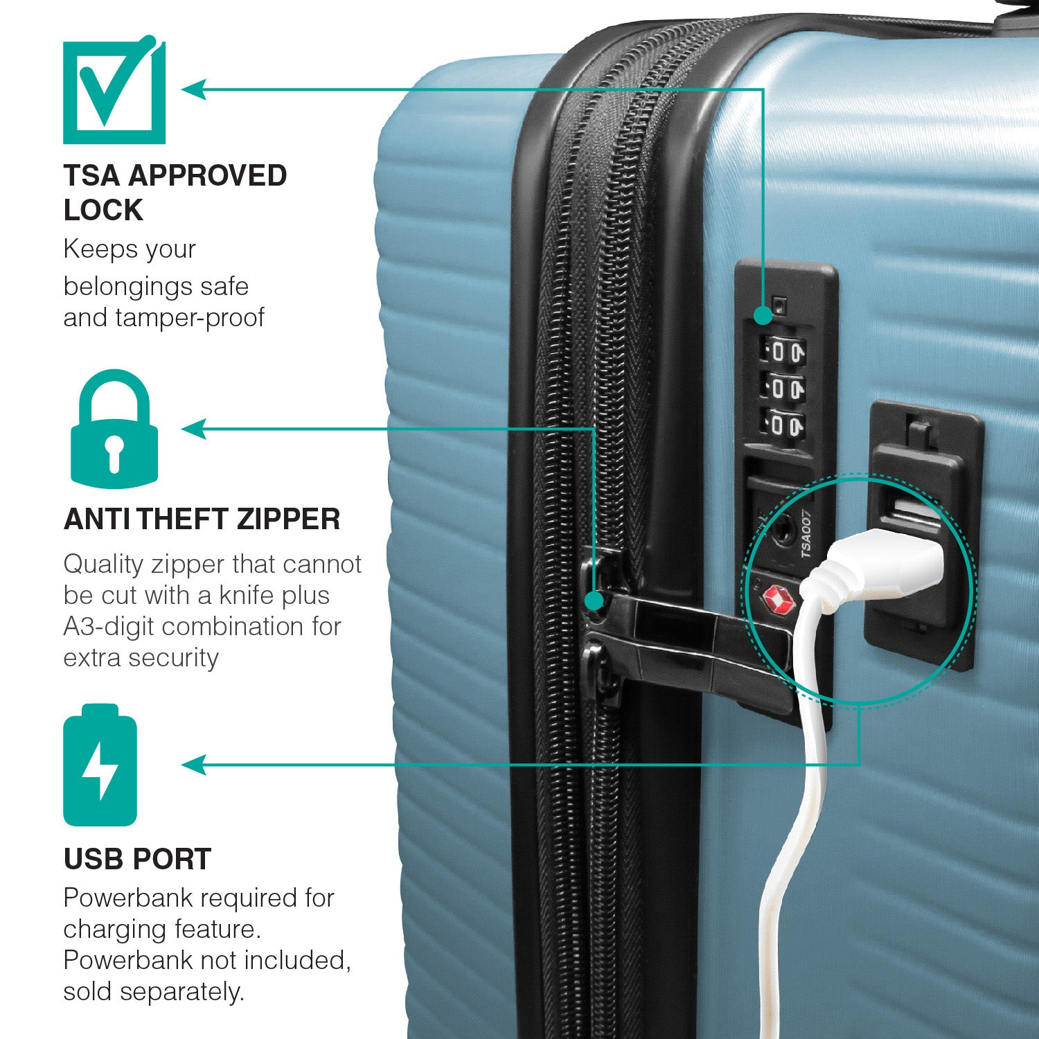 Solaris Aqua Wave Carry-on