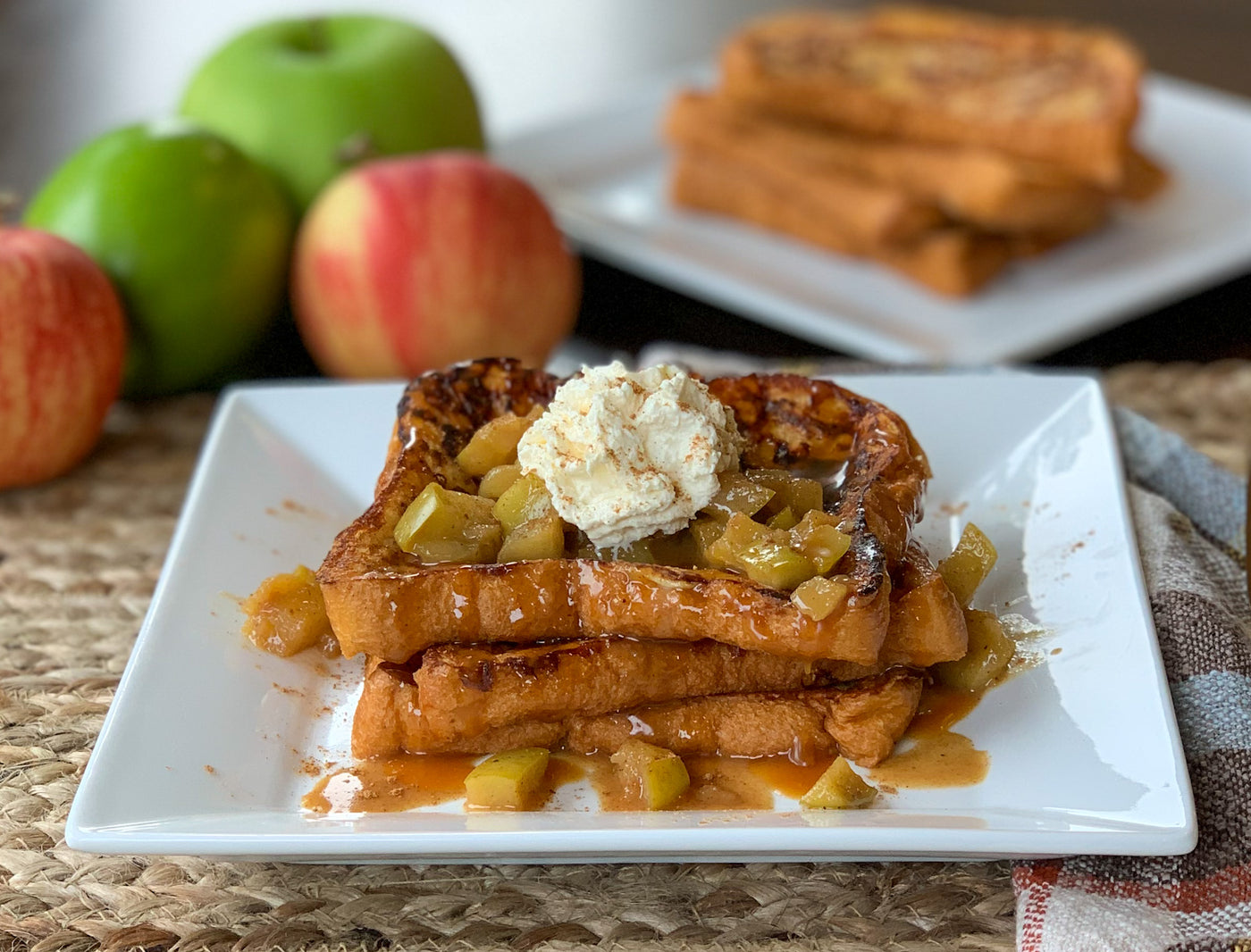 Caramel Apple Cider French Toast