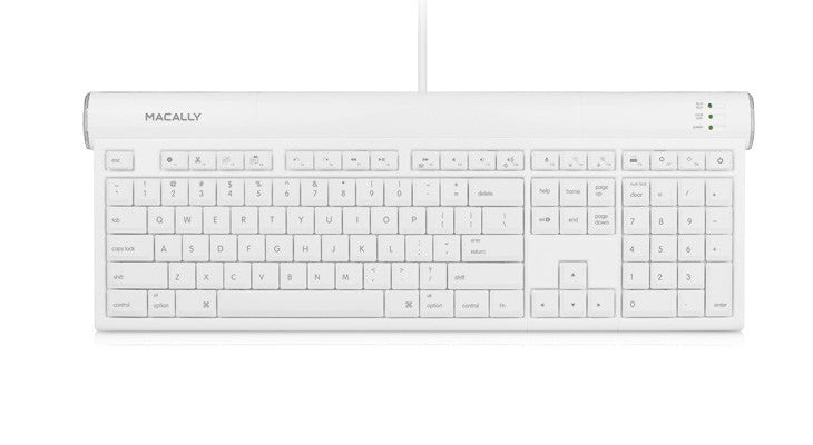 Usb 2.0 Slim Keyboard With Shortcut Function Keys
