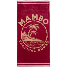 Load image into Gallery viewer, Mambo Tropical Nomad Beach Towel
