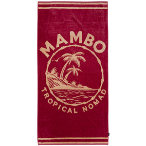 Mambo Tropical Nomad Beach Towel