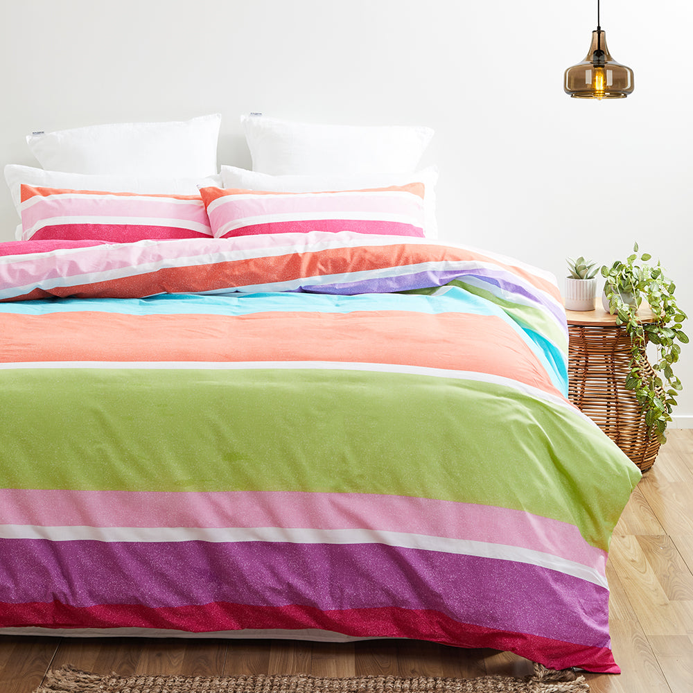 Twill & Co Wyatt Duvet Cover Set