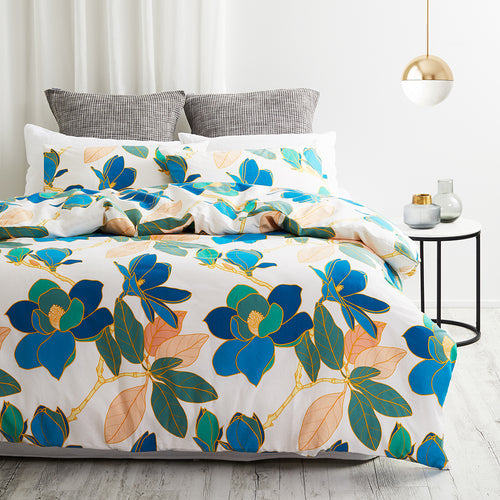 Twill & Co Magnolia Duvet Cover Set