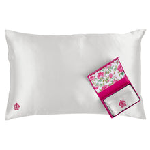 Load image into Gallery viewer, Royal Albert Silk Standard Pillowcase White
