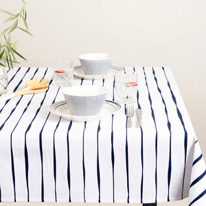 Royal Doulton Pacific Painted Stripe Printed Tablecloth