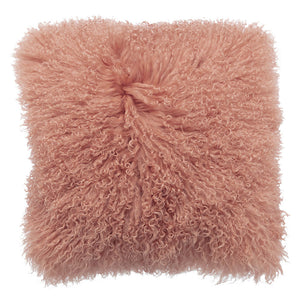 Royal Albert Mongolian Fur Cushion Clay