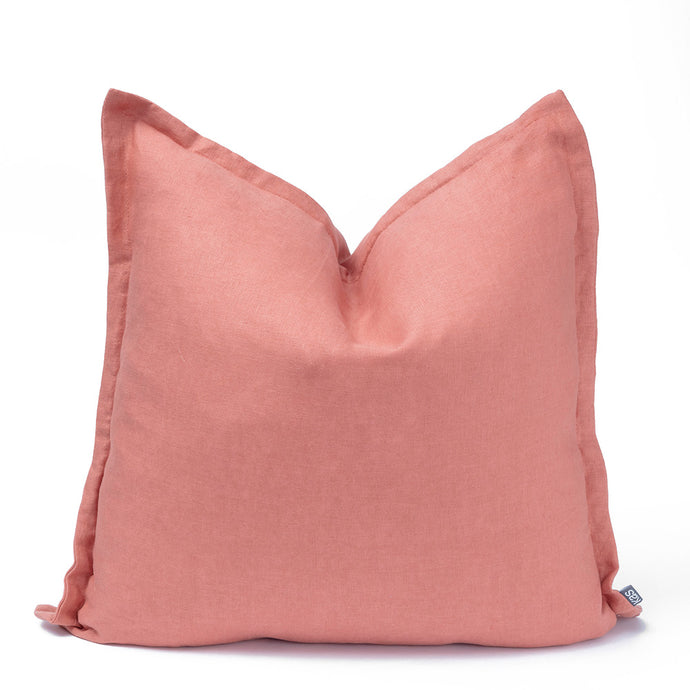 KAS Linen Cushion Clay