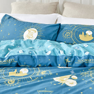 Harry Potter Organic Cotton Duvet Cover Set