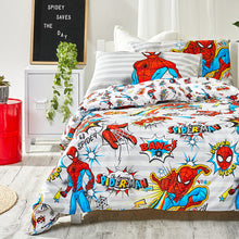 Load image into Gallery viewer, Spiderman Organic Cotton Duvet Cover Set