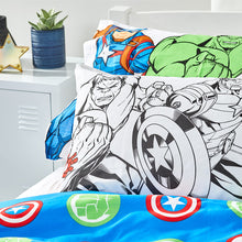 Load image into Gallery viewer, Avengers Organic Cotton Duvet Cover Set