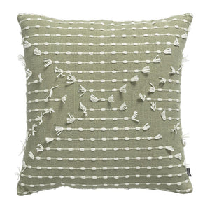 KAS Lennox Cushion Sage